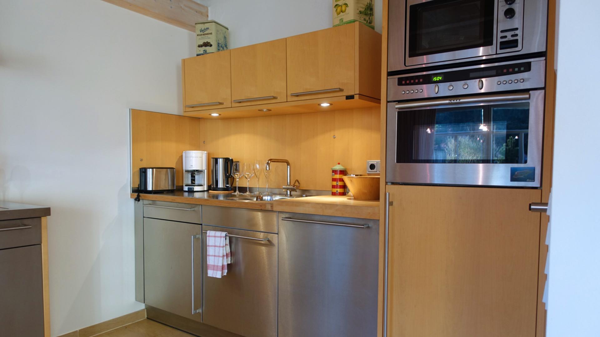 Die Küche vom Haus auf der Höhe Twee